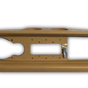 Fiat 124 Spider America beige dashboard